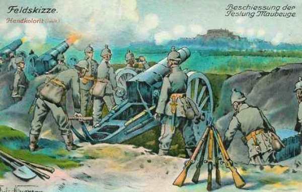 bombardement van Maubeuge