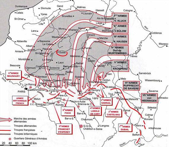 slag van Guise en Saint-Quentin