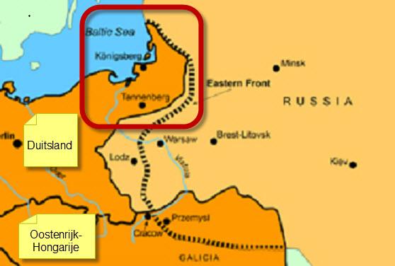 Oost-Pruisen 1914