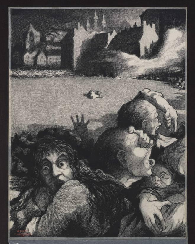 brand van Leuven gezien door Gisbert Combaz