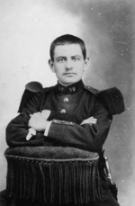 François Waterlot in 1905 tijdens zijn legerdienst