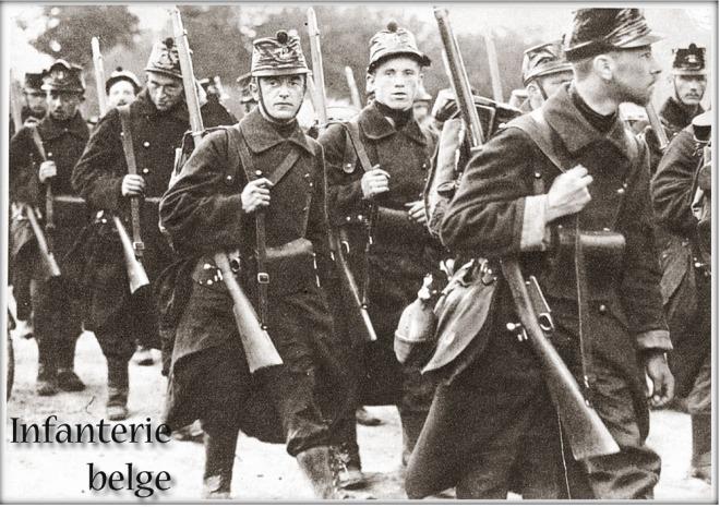 Belgische infanterie 1914