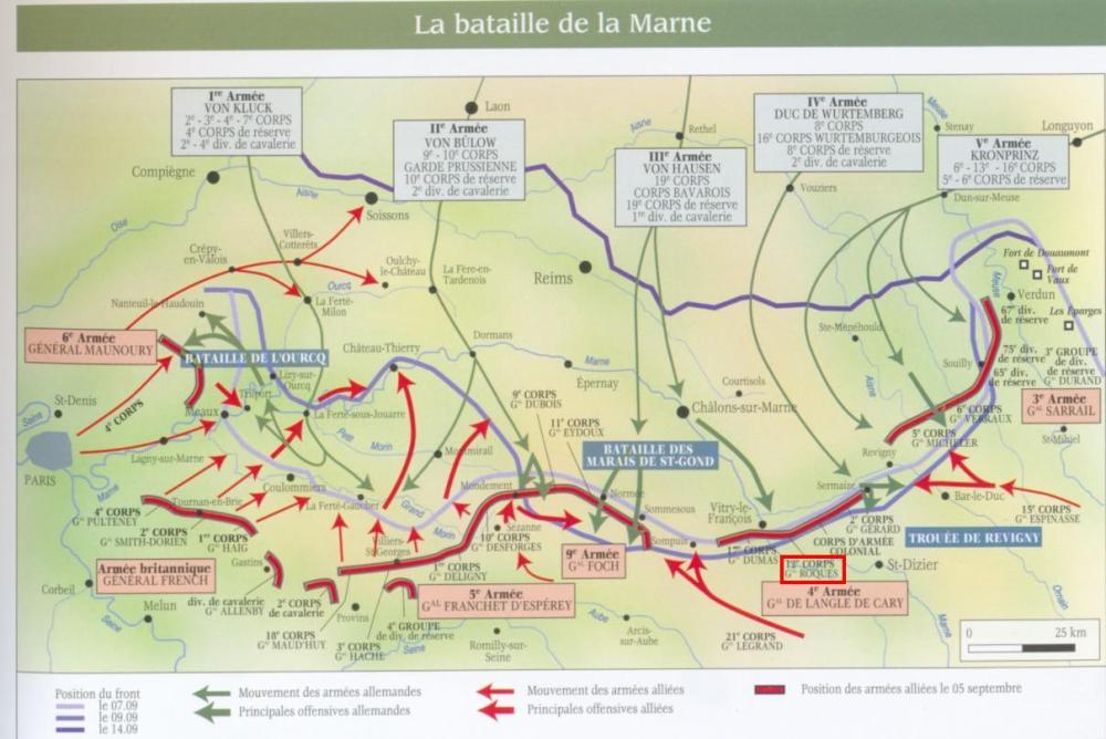De slag aan de Marne 1914 (2/5)
