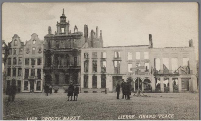 Lier Grote Markt 1914