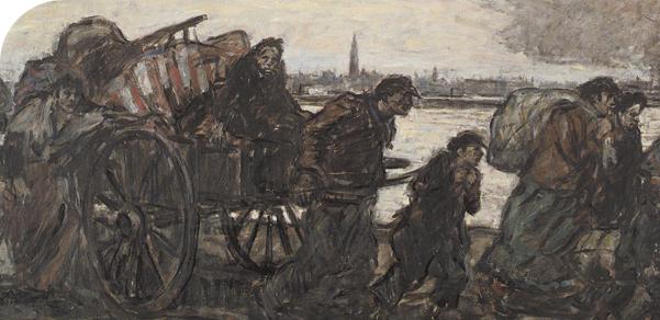 Van Mieghem - vluchtelingen in Antwerpen