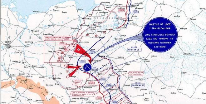 slag om Lodz 1914
