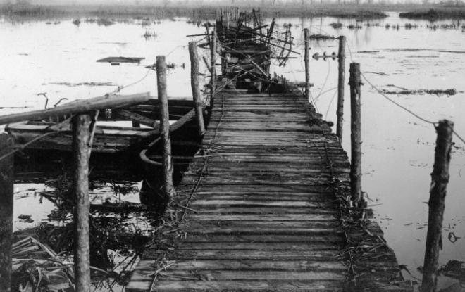 Ergens nabij Diksmuide in 1914