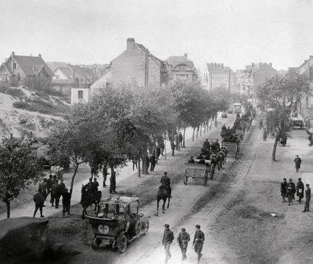 De Panne tijdens de oorlog