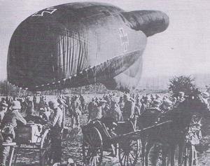 de verkenningsballon van Lemberge