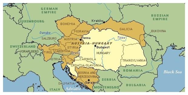 positie van Galicië in Oostenrijk-Hongarije