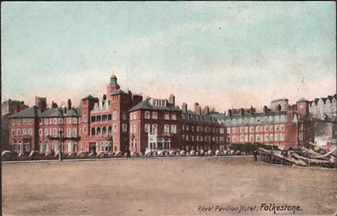 Pavilion Hotel te Folkestone