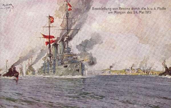 Bombardement van Ancona mei 1915