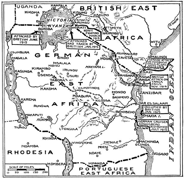 Britten veroveren Bukoba