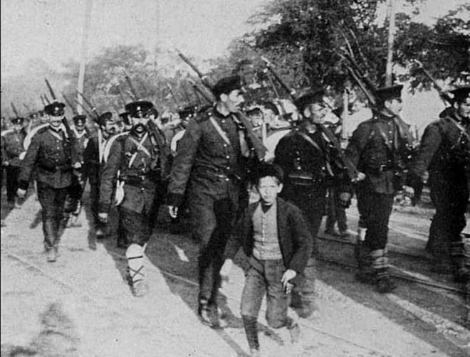 Bulgaarse gemobiliseerde soldaten