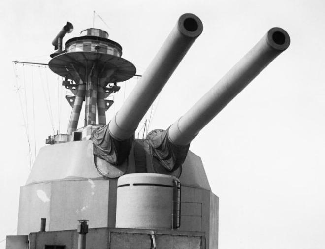 HMS Terror 15 inch gun