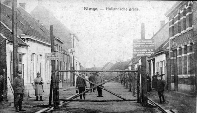 de dodendraad in Klinge op de Belgisch-Nederlandse grens