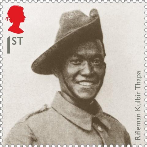 WW1-2015-Rifleman-Kubir-Thapa-Stamp