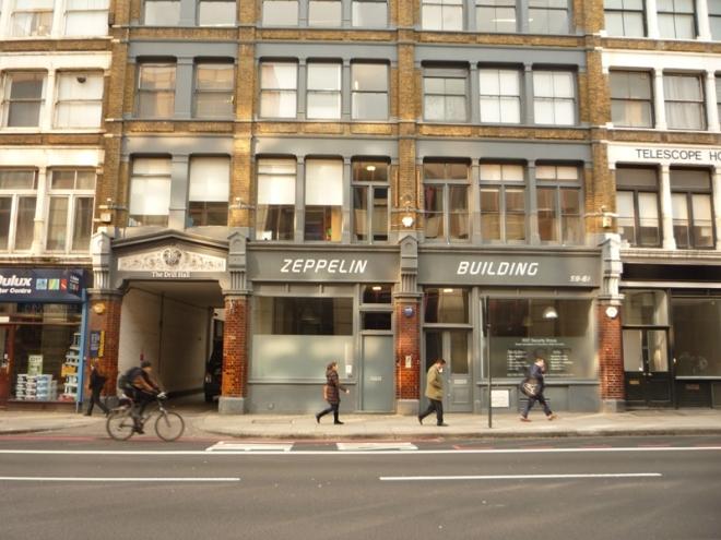 Zeppelin Building te Farringdon Road, London