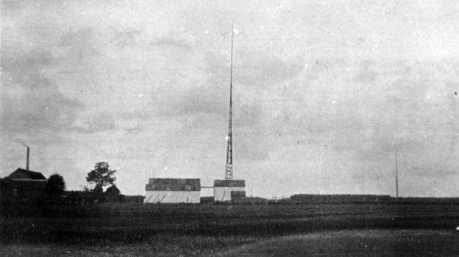 de radiopost te Baarle-Hertog