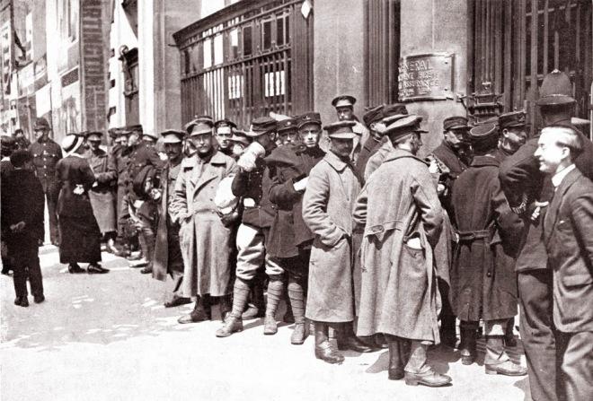 BelgianSoldiers_LondonStation1915