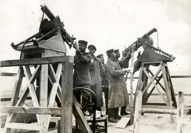 Oostende1915_Duitsluchtafweer