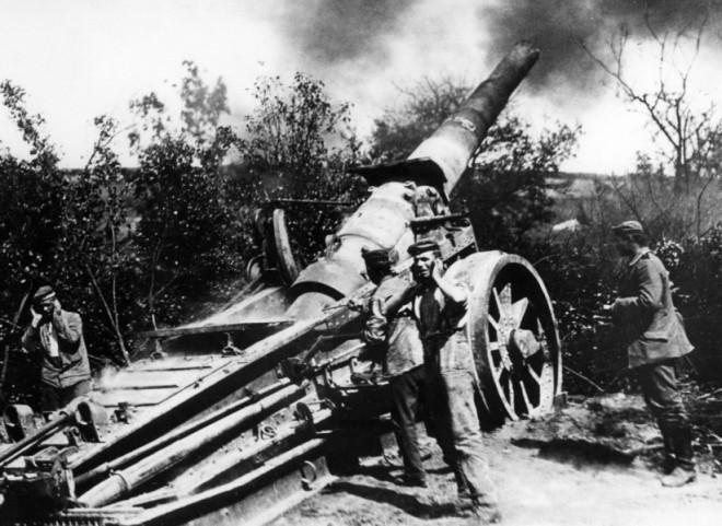 Verdun_DuitseArtillerie