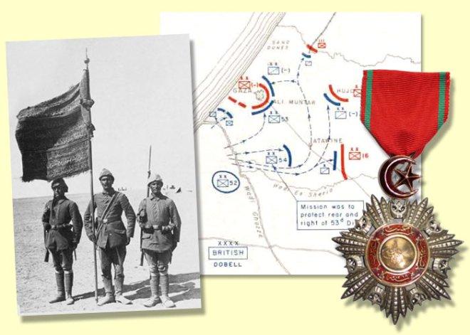 Gaza_EersteSlag_1917