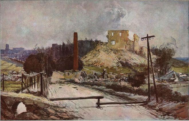 La_retraite_Allemande_(mars_1917)_François_Flameng