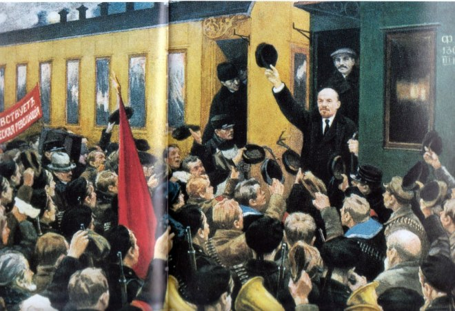 Sokolov_Lenin_Train_1917
