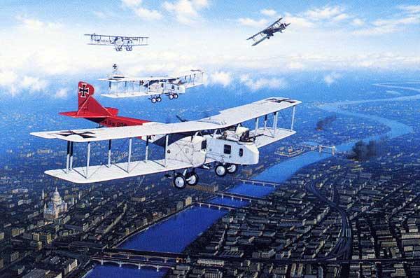 Gotha-GV-Bomber