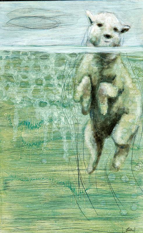 LizBrady_Swimming-Sheep-16x10