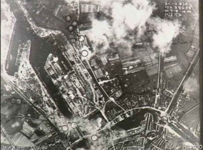 BruggeBombardement1917