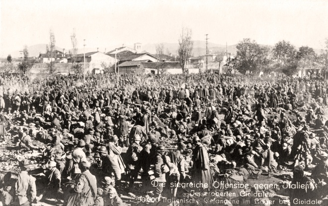 WWI - Italy - Prisoners 1917
