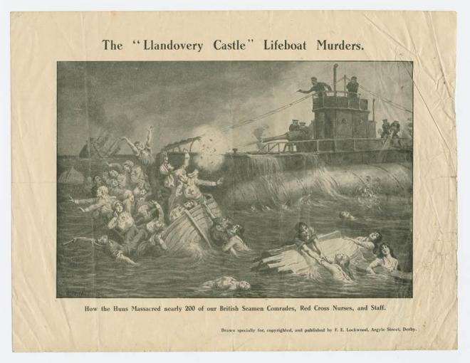 LlandoveryCastleWilkinson,_G.W.,_print_(art),_27_June_1918