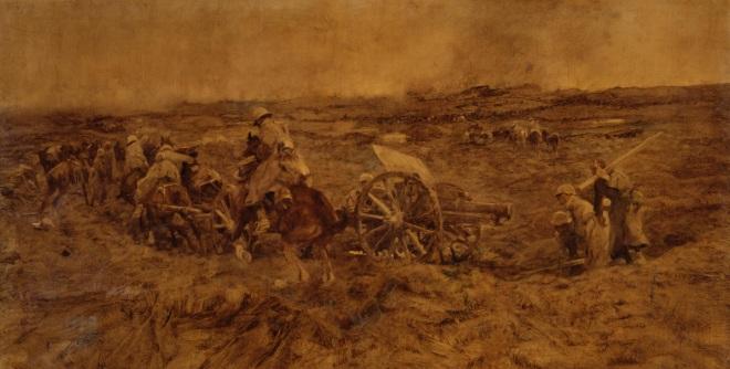 WilhelmvonSchreuer_AmKemmel_SchlachtinFlandern_1918