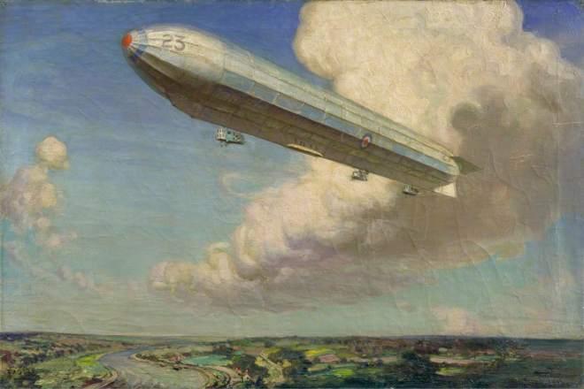 Cooper, Alfred Egerton, 1883-1974; Airship 23