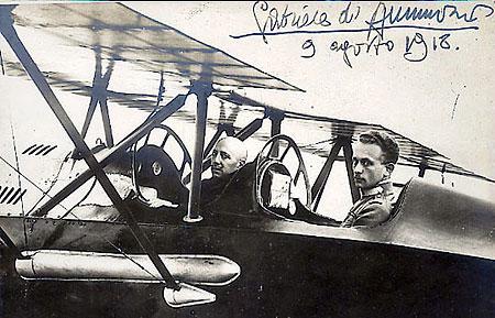 Annunzio_VluchtWenen_19180809