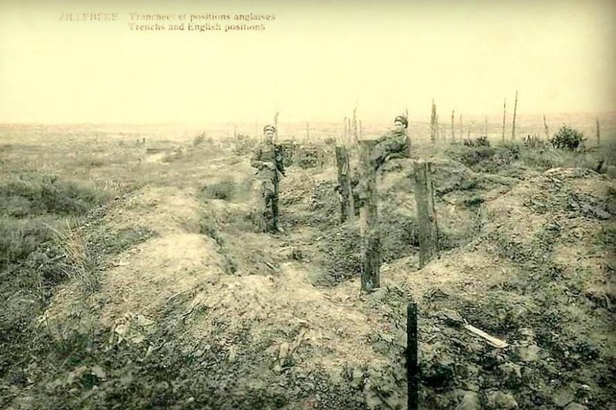 Zillebeke_EngelseLoopgraven_1918