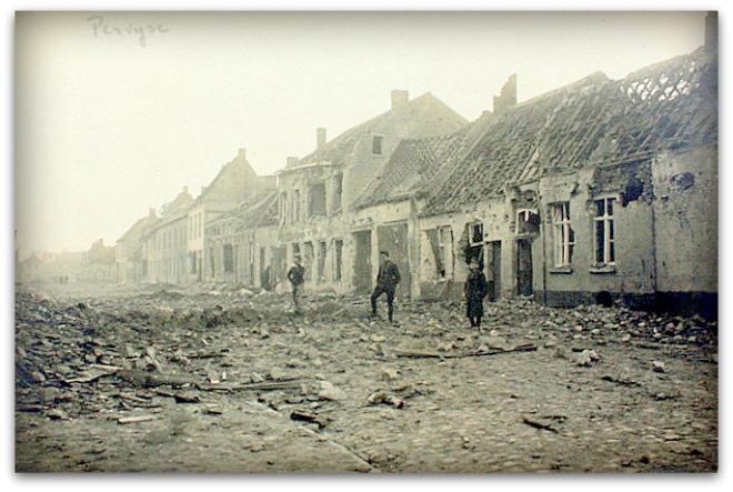 """PERVIJZE       """" Oorlog 1914-1918 """""""